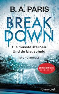 B.A. Paris - Breakdown